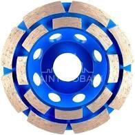 PPS Cup Wheel 100mmx4.5Tx7 CC30 M14 Blue