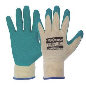 PRO 342DG Prosense Diamond Grip Glove Yellow/Green (Size 9)