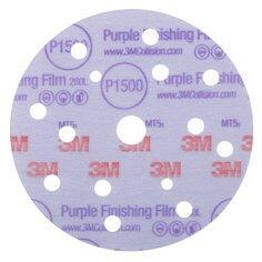 3M Hookit 260L Purple Finishing Disc 150mm 15H 1000G