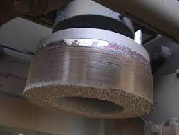 STERLING RAIL Grinding Wheel 155x75x56-w/Nuts 53mm-3NZ14 P5