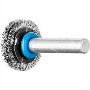 PFERD Shank Mounted Wheel Brush, Crimped RBU 2004/6 INOX 0,20