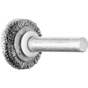 PFERD Shank Mounted Wheel Brush, Crimped RBU 2004/6 STEEL 0,20