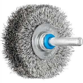 PFERD Shank Mounted Wheel Brush, Crimped RBU 5015/6 INOX 0,20