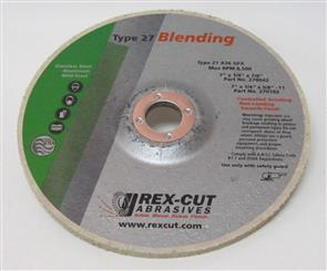 REXCUT D/C Grinding Disc T27 178x6.0x22mm A36 GFX