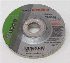 REXCUT Flexible Grinding Disc T27  4 1/2x7/8 MAX FLEX A36