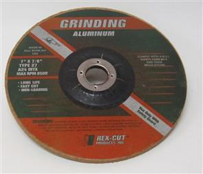 REXCUT D/C Grinding Disc T27 178x6.0x22mm A24 MTX
