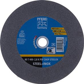 PFERD Inox Cut Off Disc 80T 400x2.8mm A36 PSF CHOP