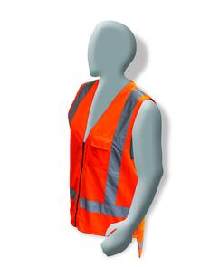 ARMOUR HI VIS TTMC-W Day/Night Vest Large HVODNZV3
