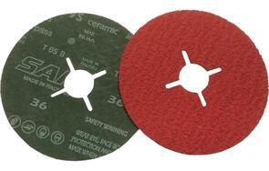 SAIT Ceramic Fibre DISC 115x22mm  36G