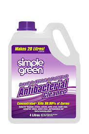 SIMPLE GREEN Anti-Bacteral Cleaner Concentrate  4LtrSG35003