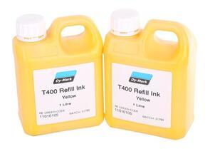 TRADEGEAR T400 Ink Yellow 1 Litre For Ballmarker