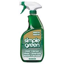 SIMPLE GREEN Industrial Cleaner & Degeaser Concentrate 750ml w Trigger