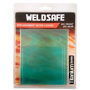 WELDSAFE Filter Covers 7Pk Titanium