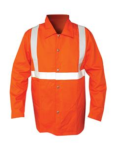 ARMOUR FLAME RETARDANT JACKET ORANGE SIZE XL