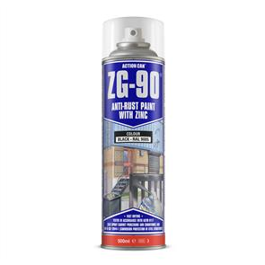 ACTION Anti-Rust Black (Zinc) ZG90 500ml
