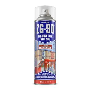 ACTION Anti-Rust Red (Zinc) ZG90 500ml