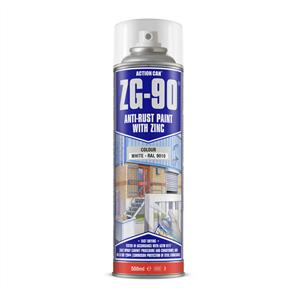 ACTION Anti-Rust White (Zinc) ZG90 500ml