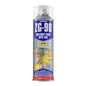 ACTION Anti-Rust Yellow (Zinc) ZG90 500ml