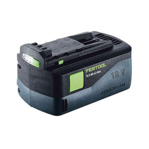 FESTOOL ACCESSORIES BATTERY 18 LI 5.2 Ah LI-ION AS AIRSTREAM