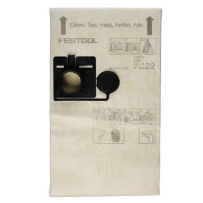 FESTOOL ACCESSORIES FIS-CT22 EXTRACTOR FILTER BAG 5