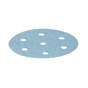 FESTOOL ACCESSORIES DISCS - 90MM 6 HOLE SPEED GRIP (GRANAT MATERIAL, BLUE)