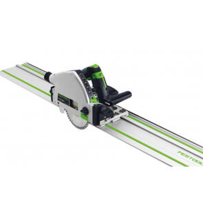 FESTOOL TS 55 REBQ-PLUS FS PLUNGE CUT SAW WITH FS 1400/2