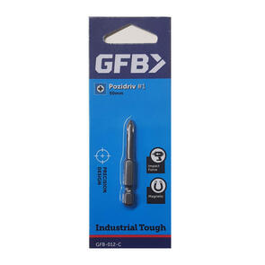 GFB POZI BIT NO:1 50MM