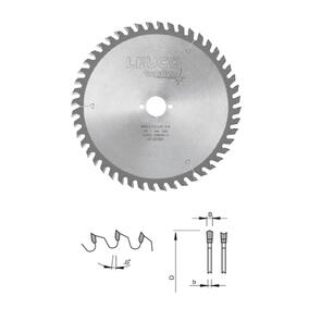 LEUCO Hollow Face Saws for cutting laminated panels