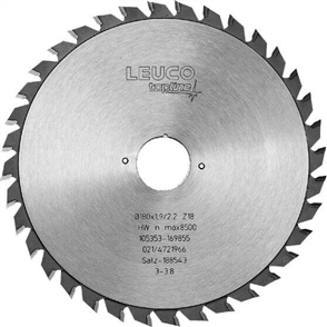 LEUCO SCORING BLADES FOR DIMENSION SAWS