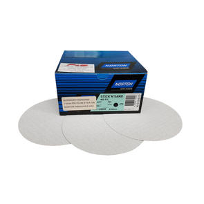 NORTON P80 PLAIN STICK ON NORTON ABRASIVE DISC (100 per box)