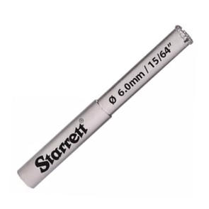 STARRETT 6.0MM DIAMOND GRIT HOLE SAW