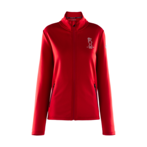 North Sails W Cowes Full Zip - Red