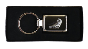Brand Protocole Etched Metal Keyring