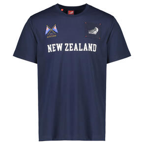 New Zealand T-Shirt - Navy